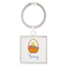 Easter Basket Terry Keychains