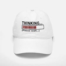 thinking,please wait.png Baseball Baseball Cap