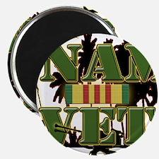 "Vietnam Veteran Ribbon 2.25"" Magnet (10 pack)"