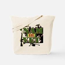 Vietnam Veteran Ribbon Tote Bag