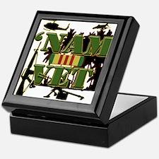 Vietnam Veteran Ribbon Keepsake Box