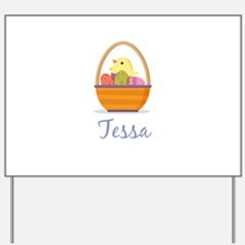 Easter Basket Tessa Yard Sign