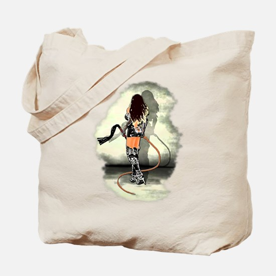 Bullwhip Mistress Tote Bag