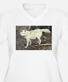 Blonde Timberwolf photo by Bill Taylor T-Shirt