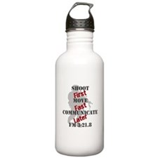 Shoot, move, and communicate Water Bottle