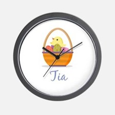 Easter Basket Tia Wall Clock