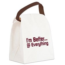Better@Everything Canvas Lunch Bag