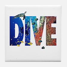 Scuba Dive! Tile Coaster