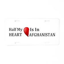 Afghanistan Aluminum License Plate