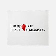 Afghanistan Throw Blanket