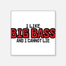 I Like Big Bass Sticker