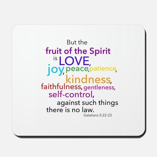 Fruits of the Spirit Mousepad