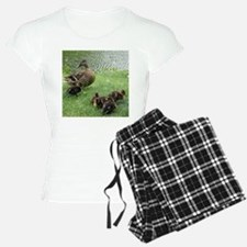 Duck mom and Ducklings Pajamas