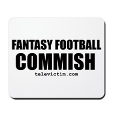 """COMMISH"" Mousepad"