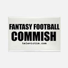 """COMMISH"" Rectangle Magnet (100 pack)"