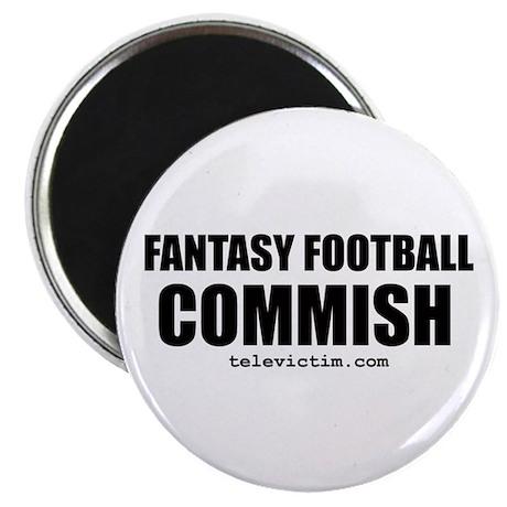 """""""COMMISH"""" Magnet"""