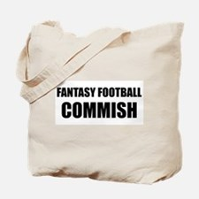 """COMMISH"" Tote Bag"