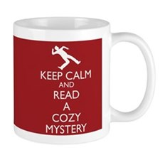 Cozy Mystery Book Review Mug-Red