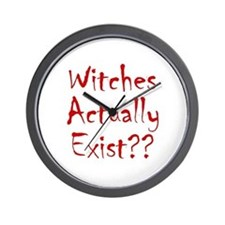 Witches Actually Exist Wall Clock