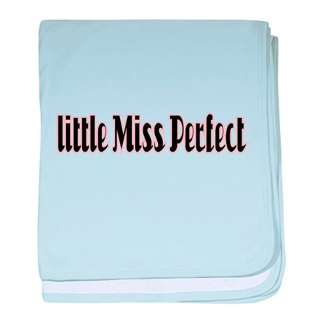 Little Miss Perfect baby blanket