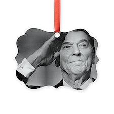 Ronald Reagan Salutes Ornament