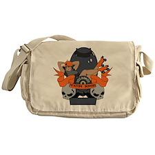 Matom Bombs Logo Messenger Bag