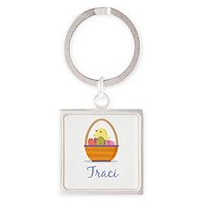 Easter Basket Traci Keychains