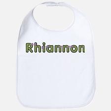 Rhiannon Spring Green Bib