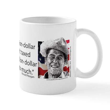 Ronald Reagan Explains the Debt Crisis Mug