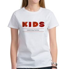 Kids Learning Center Logo3 Adults Tee
