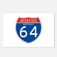 Interstate 64 - KY Postcards (Package of 8)