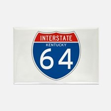 Interstate 64 - KY Rectangle Magnet