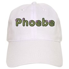Phoebe Spring Green Baseball Baseball Cap