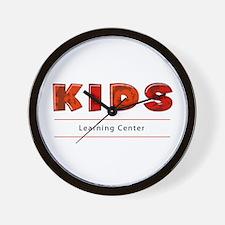Kids Learning Center Logo3 Stuff Wall Clock