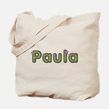 Paula Spring Green Tote Bag