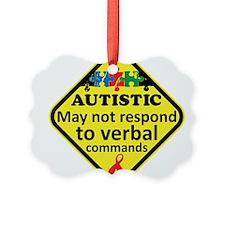 Autistic Ornament