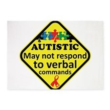 Autistic 5'x7'Area Rug