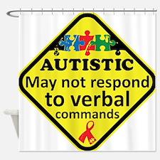 Autistic Shower Curtain