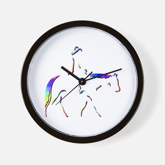 Western Pleasure Wall Clock