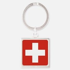 Flag of Switzerland Keychains
