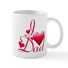 I Love Dad copy Mug