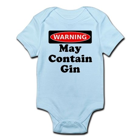 Warning May Contain Gin Body Suit