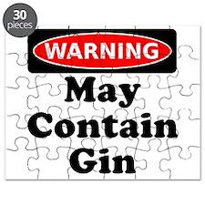 Warning May Contain Gin Puzzle
