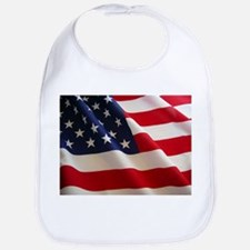 American Flag - Patriotic USA Bib