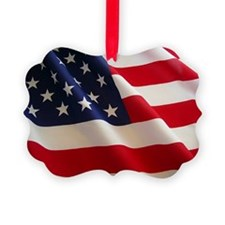 American Flag - Patriotic USA Ornament