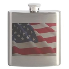 American Flag - Patriotic USA Flask