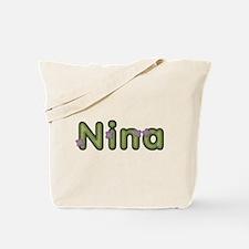 Nina Spring Green Tote Bag
