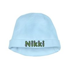 Nikki Spring Green baby hat