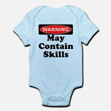 Warning May Contain Skills Body Suit