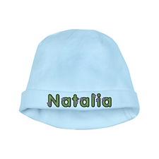 Natalia Spring Green baby hat